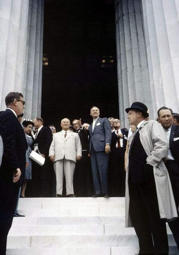Визит Хрущёва в Америку