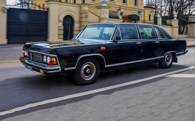 Тест машины, которую никогда не продавали: Чайка ГАЗ‑14