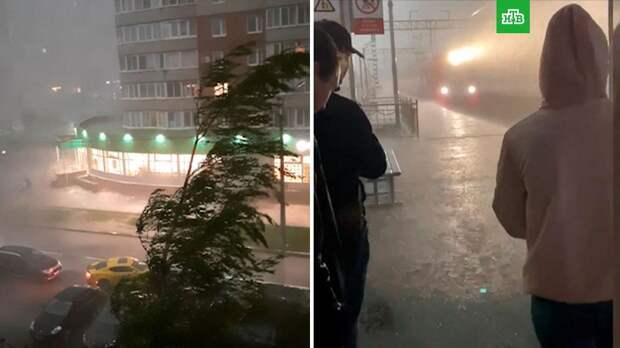 В Петербурге ликвидируют последствия грозы