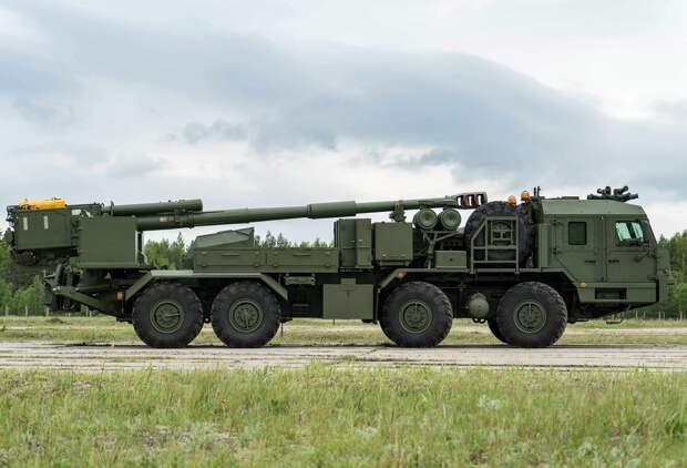 Новейшую артиллерию России показали на видео