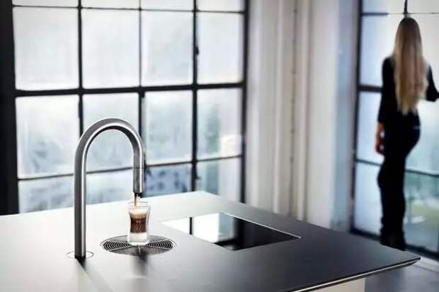 Coffe tap - кофемашина, замаскированная под кухонный кран