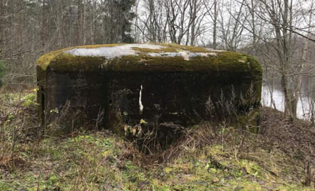 Немецкий Краб: черные копатели проникли внутрь бункера Рейха