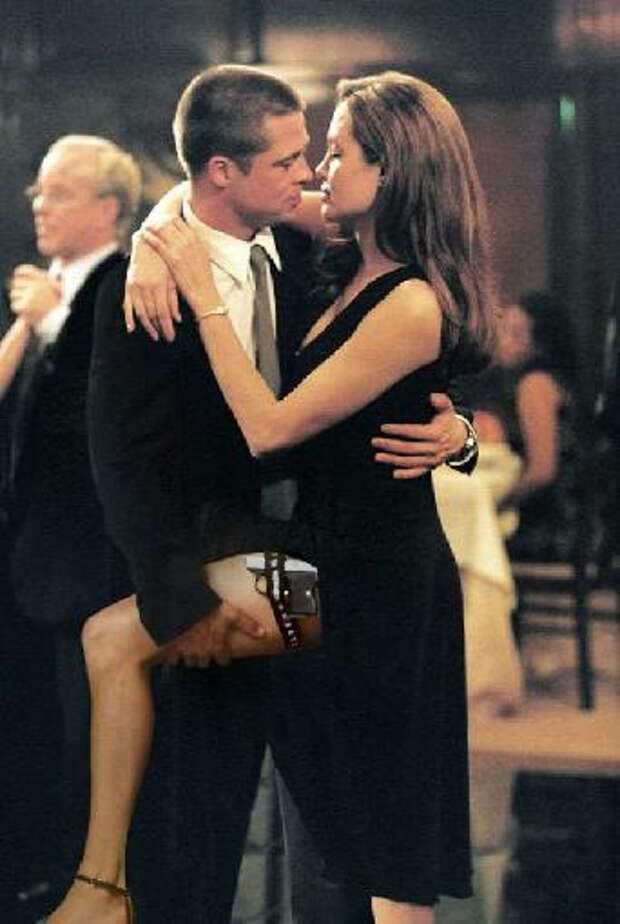 """Танго в Исполнении Анджелины Джоли и Бреда Питта - """"Мистер и миссис Смит"""""""