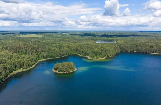 Смоленское Поозерье. Тайны озера Сапшо