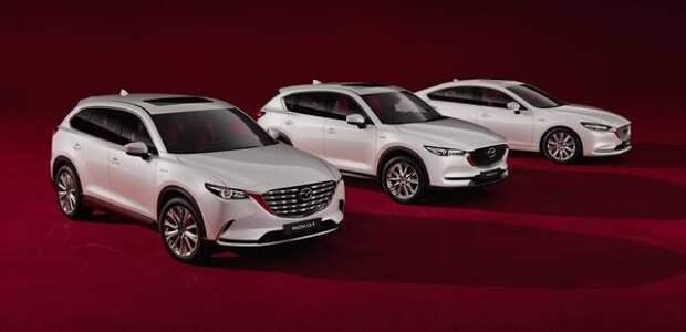 Автомобили Mazda в России получили юбилейную версию Century Edition