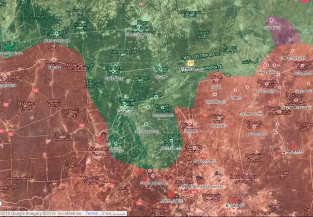 Сирия. Удар на опережение, срывает планы боевиков