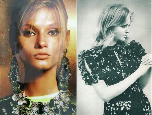 Мзвестная модель 60-70-х годов, которую называли русской «Твигги» – из-за нехарактерной для манекенщиц того времени худобы.
