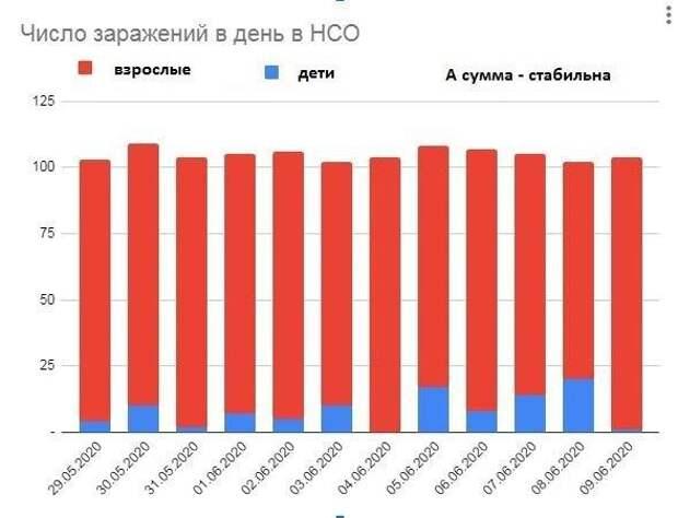 Коронарифметика: новосибирский штамм умеет определять суточную квоту на заражение взрослых