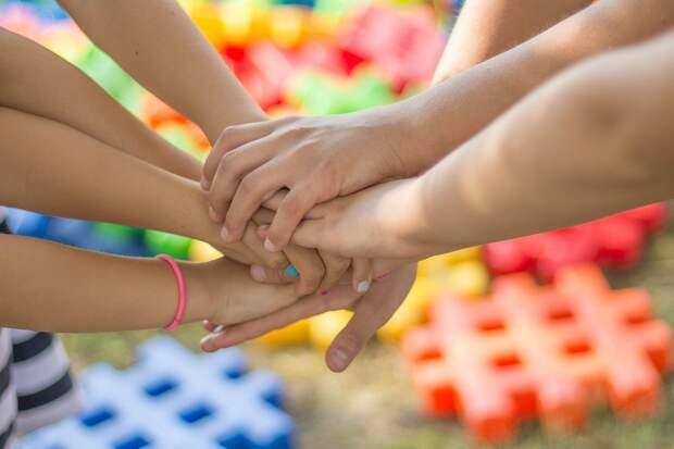 Руки, Дружба, Друзья, Дети, Развлечения, Счастье