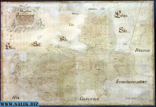 Мысли по картам Санкт-Петербурга 18-го века