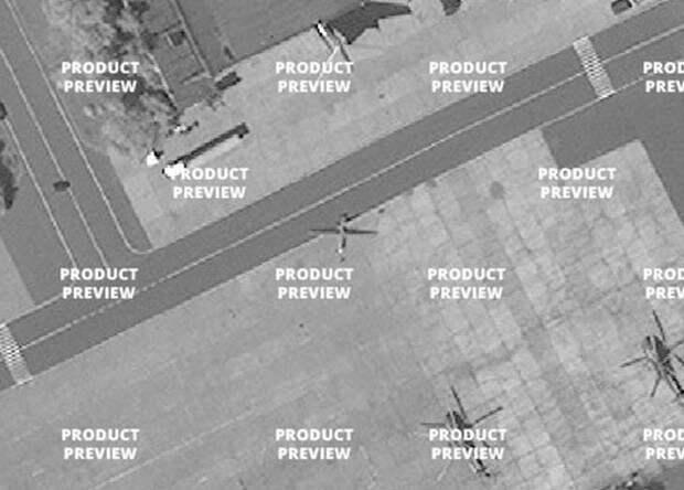 Новый российский беспилотник попал на спутниковые снимки