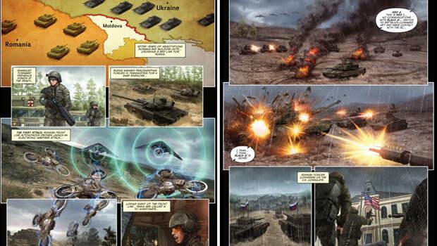 «Чтобы не было сюрпризов»: как в США учат военных по комиксам о столкновении НАТО с Россией
