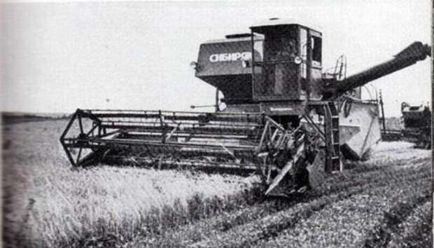 Самые распространенные комбайны СССР, которые кормили всю страну