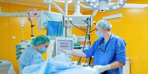 В Москве провели уникальную операцию сфокусированным ультразвуком Фото: mos.ru