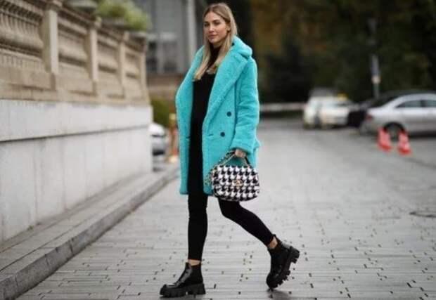 С чем сочетать модные ботинки челси зимой