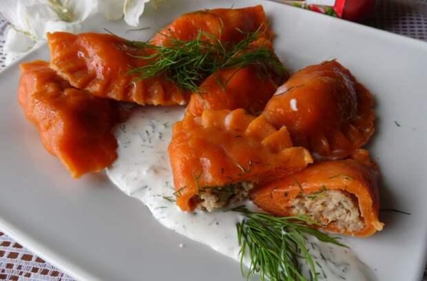 Рецепты по четвергам. Клёцки, ньокки, галушки, вареники. Вареники с мясом (вып. 5)