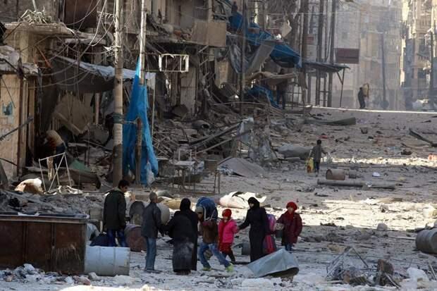 МО РФ: Запад грозит России санкциями из-за освобождения 80 тысяч жителей Алеппо