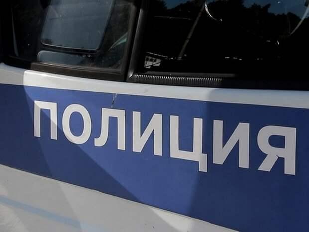Автомобиль полиции попал в ДТП в Москве