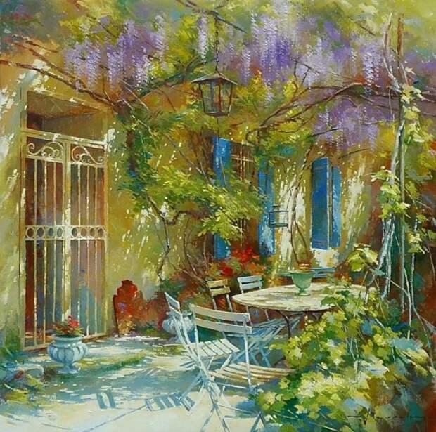 художник Йохан Мессели (Johan Messely) картины – 10
