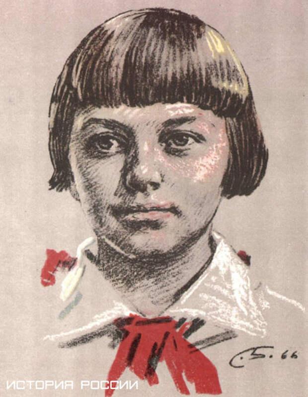 Галя и Зина Портновы воспитывались в обычной семье. Привычный уклад жизни сломала война..