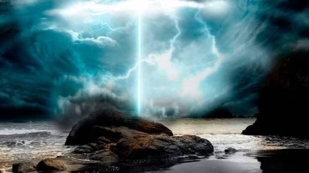 В верхних слоях атмосферы зафиксировали загадочные синие молнии