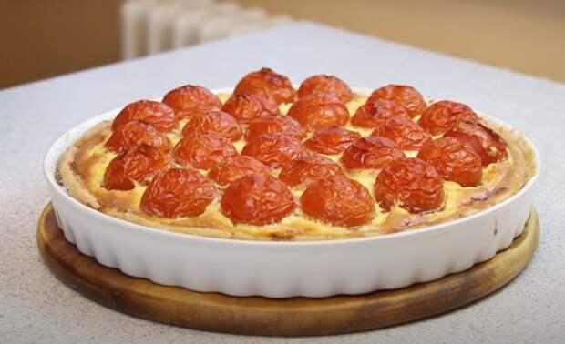 Мясной пирог «Синьор помидор»