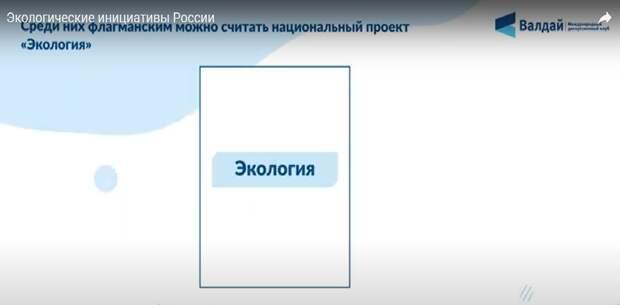 Видеоинфографика: Экологические инициативы России