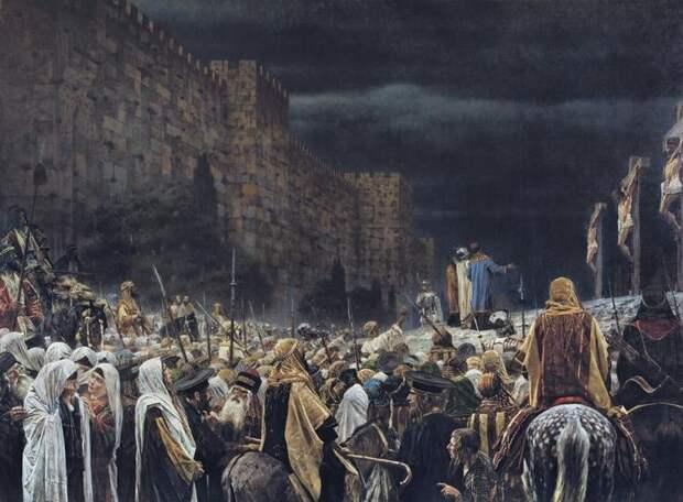 Распятие на кресте у римлян