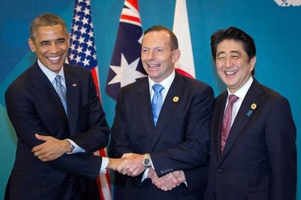 Неловкие рукопожатия в мире политики