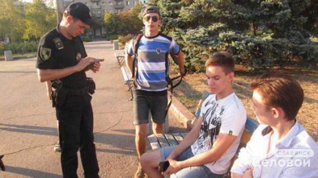 Студенты Славянска отказались вставать под гимн Украины