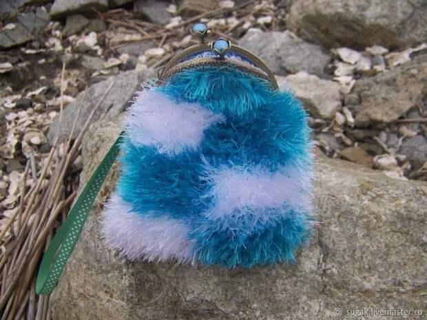 Вяжем кошелёк с фермуаром «Танцующие облака», фото № 19