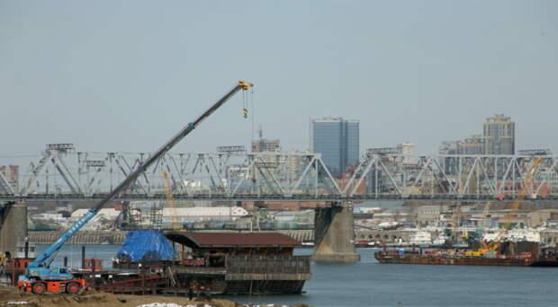 Стройку четвёртого моста в Новосибирске готовят к паводку