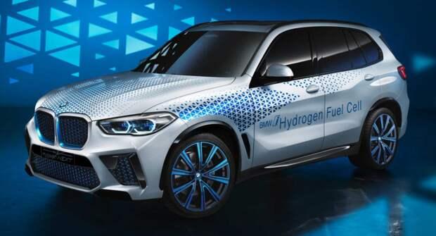 Компания BMW анонсировала водородную модель кросса X5, которую выпустят в 2022 году