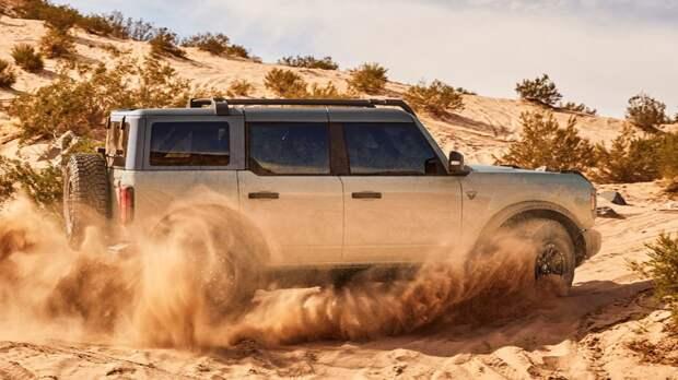 Берегись, Гладиатор: Ford добавит в линейку Bronco рамный пикап