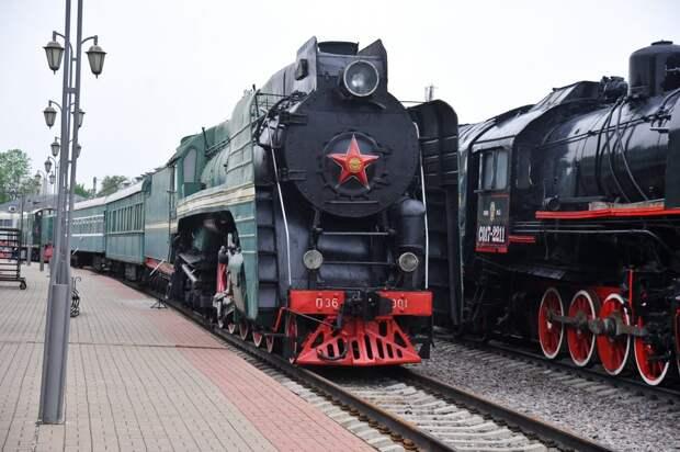 Железнодорожный музей на Рижском вокзале открывает свои двери