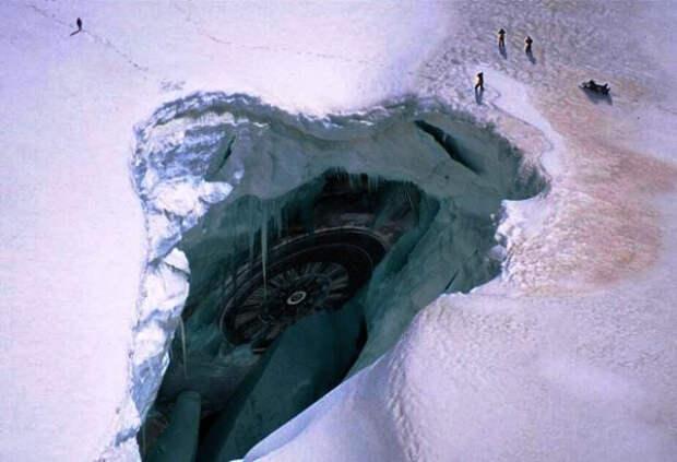 В Антарктиде найдены нацистские «парковки» НЛО