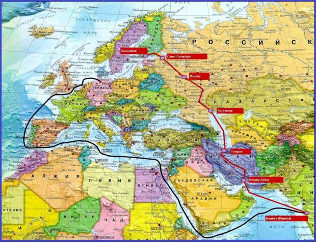 MEI: Россия получит собственную альтернативу Суэцкому каналу
