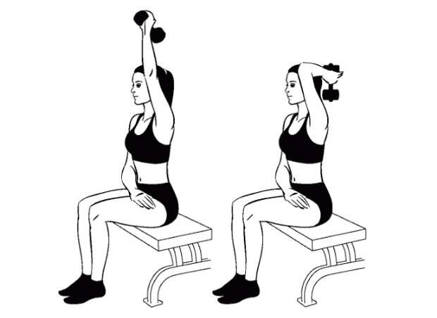 Упражнения для идеальной линии плеч и рук