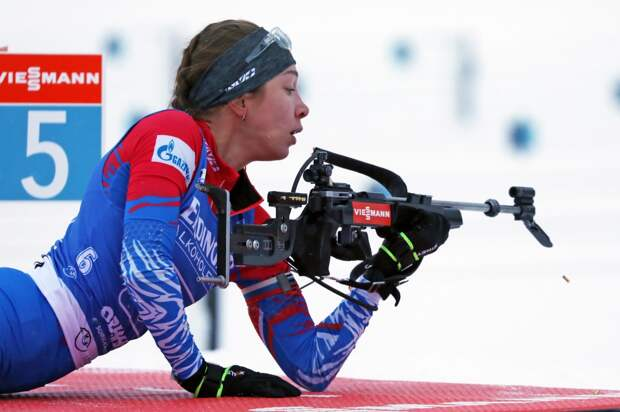 Биатлонистка из Удмуртии Ульяна Кайшева стала четвертой в женской эстафете на этапе Кубка мира