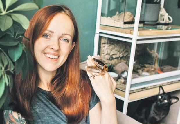 Семья из Щукина держит экзотических жуков