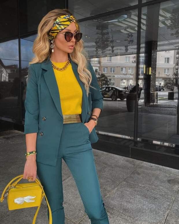 Как стильно носить платок: 25 изысканных решений, которые добавят нотку роскоши
