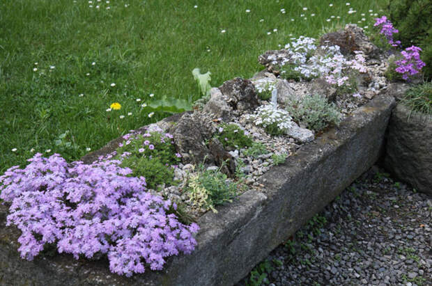 бетонные корыта