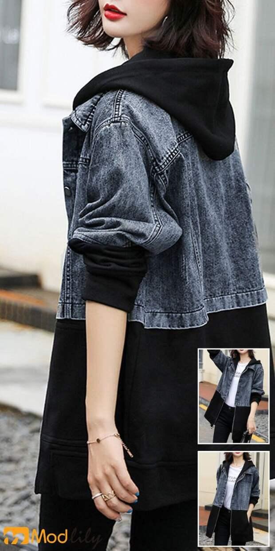 идеи как перешить куртку джинсовку
