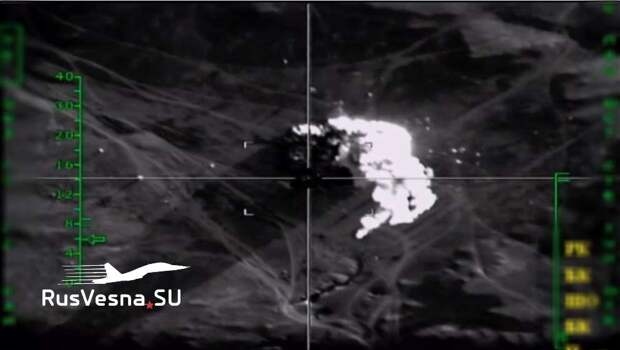 ВКС РФ уничтожили убийц нашего генерала под носом у армии США