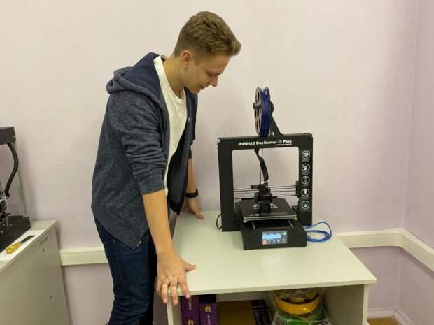 Школьник из Митина сконструировал тепловой двигатель на 3D-принтере