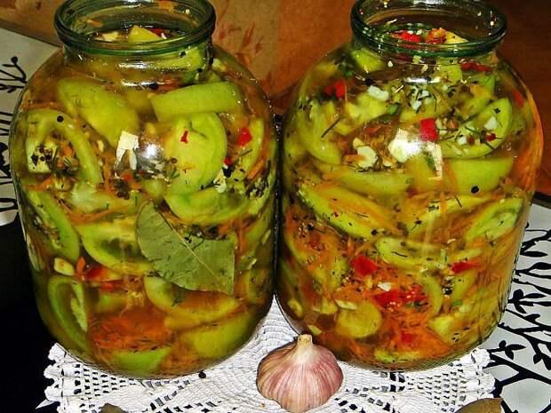 ПРЯНЫЕ СОЛЁНЫЕ ПОМИДОРЫ | Зеленые помидоры, Вкусняшки, Еда