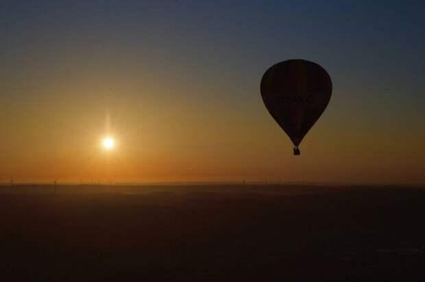 При крушении воздушного шара во время фестиваля на Украине погиб мужчина