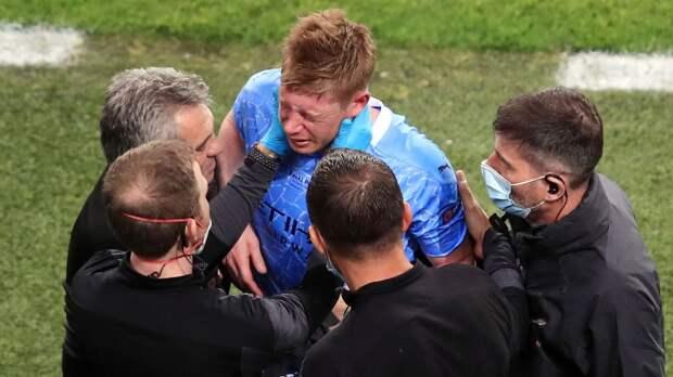 Де Брейне перенес операцию на глазнице. Участие бельгийца в матче с Россией под вопросом