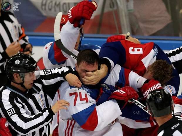 Хоккейный матч «Россия – Чехия»