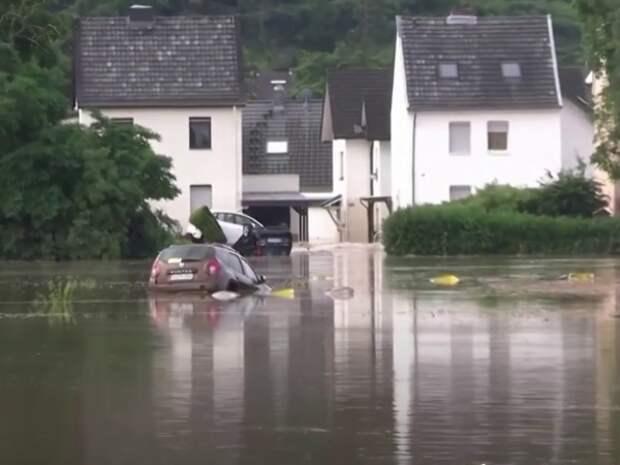 В Германии из-за наводнения пропали 1,3 тысячи человек